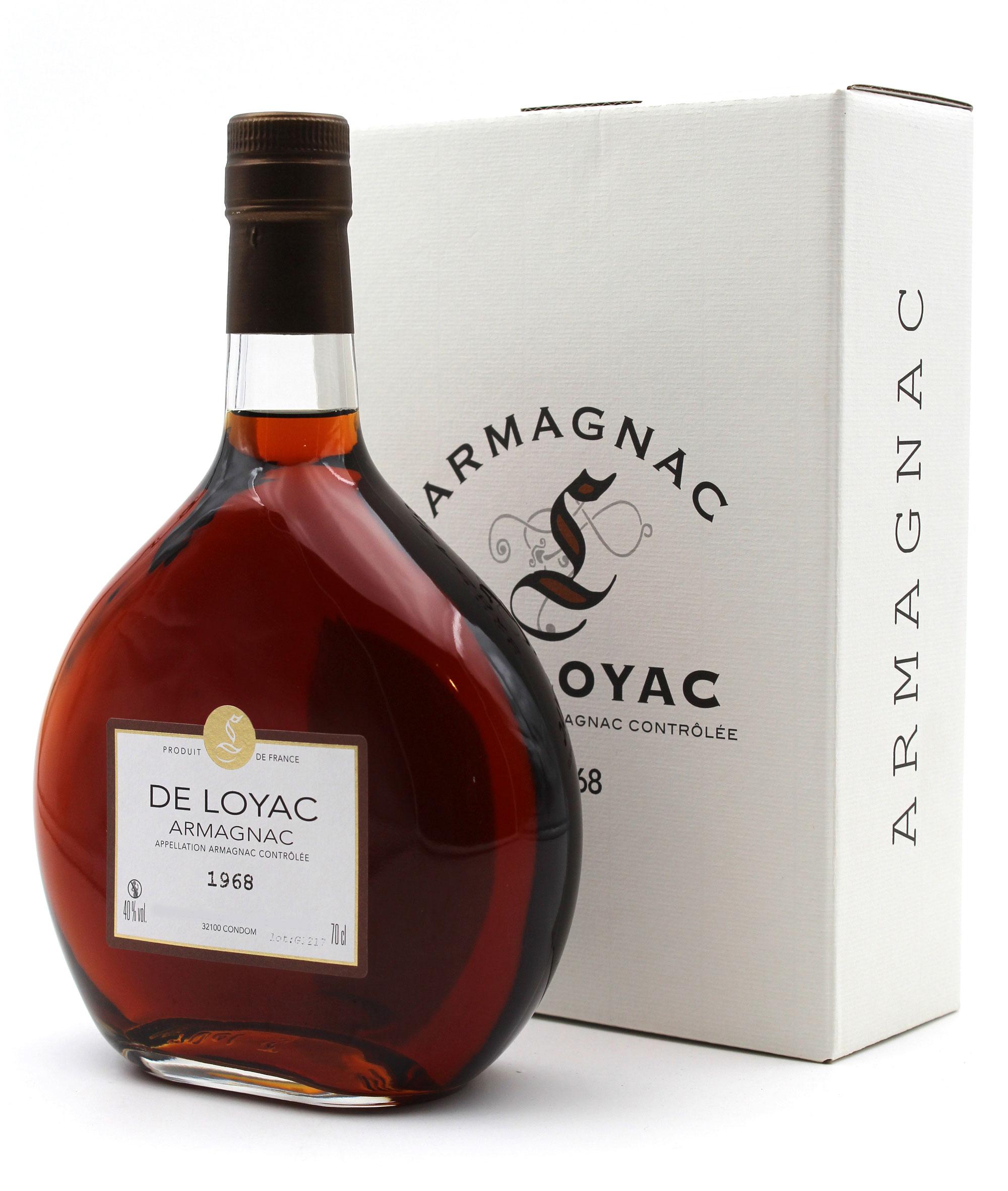 Armagnac De Loyac 1968 - 70cl