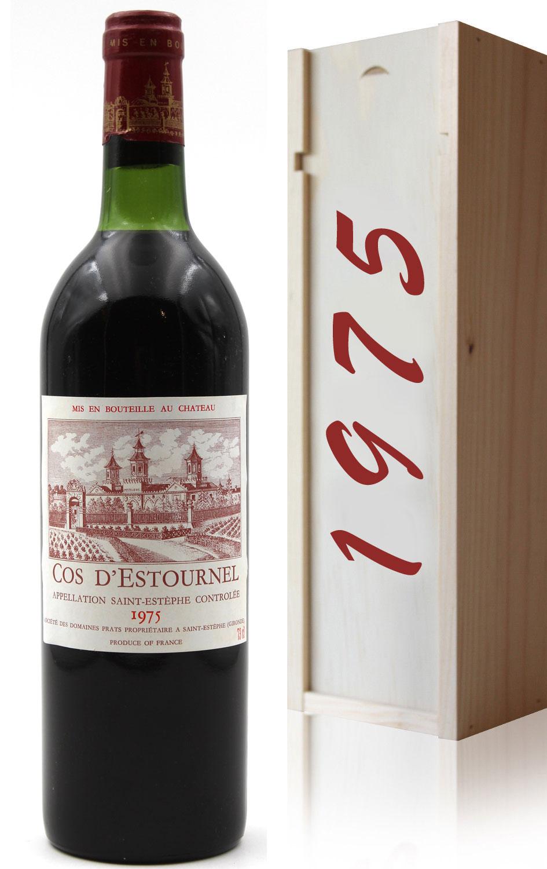 Coffret Château Cos D\'Estournel 1975 Rouge 75cl AOC Saint-Estephe