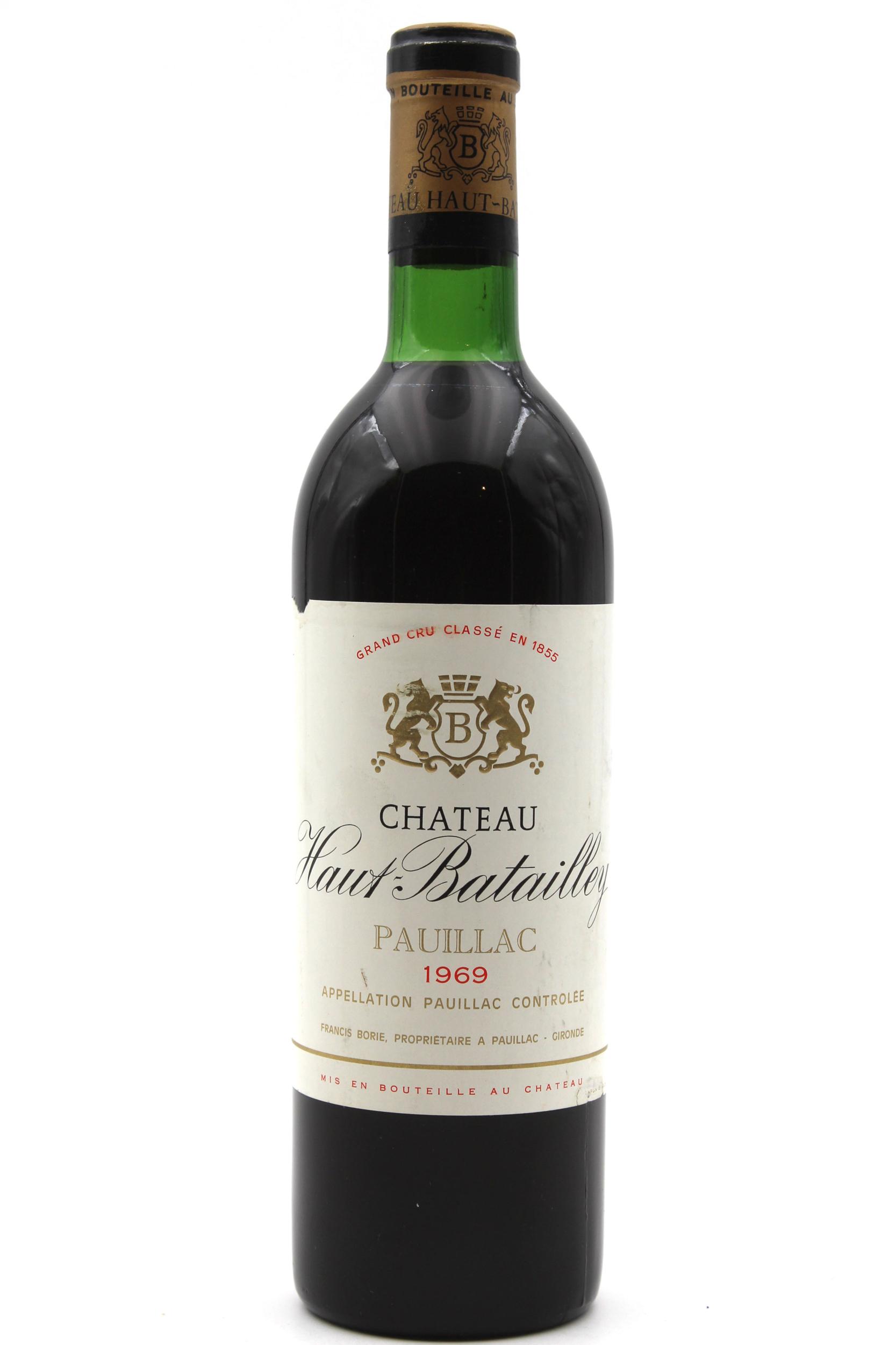 Château Haut Batailley 1969 Vin Rouge 75cl AOC Pauillac