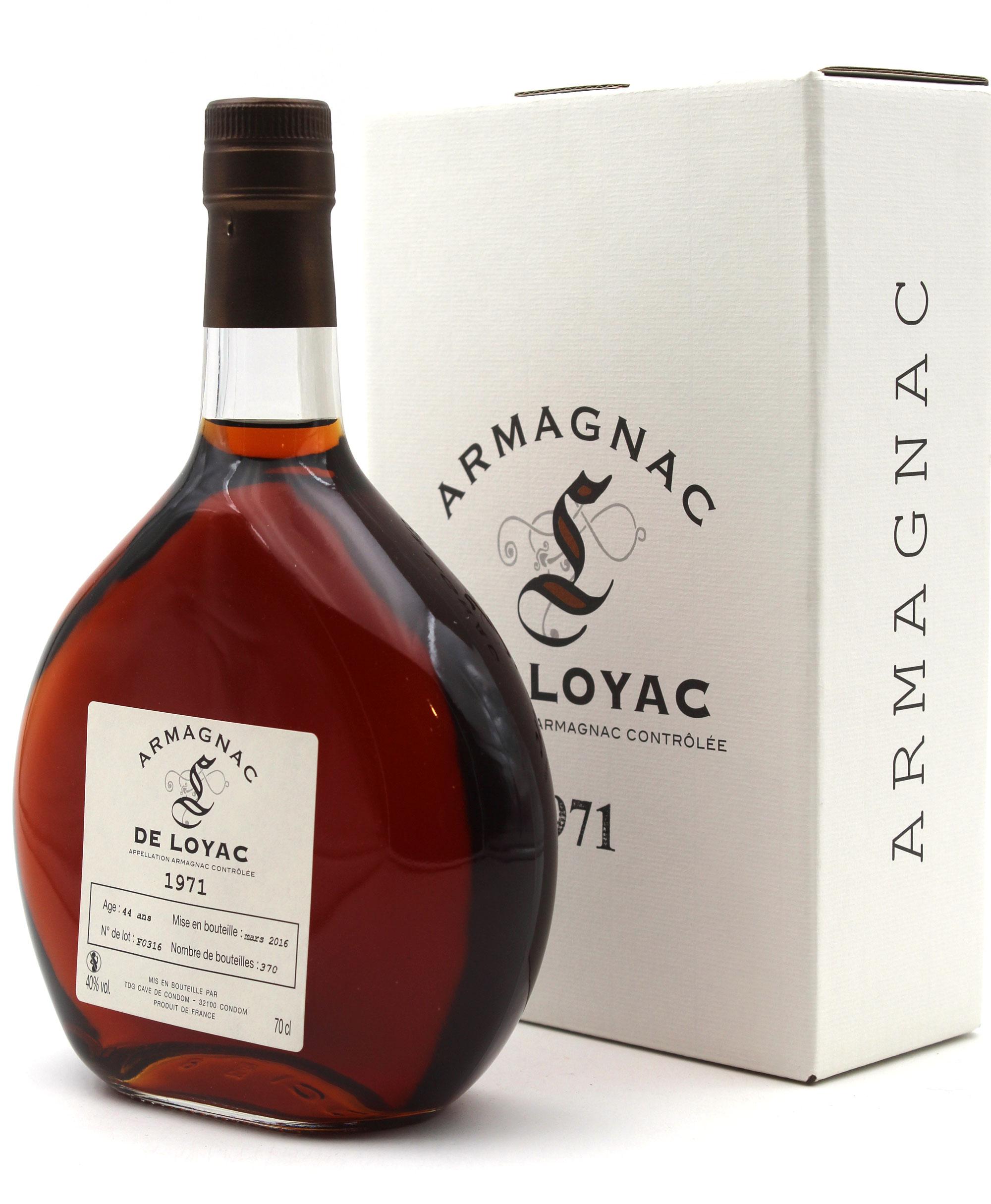 Armagnac De Loyac - 1971 - 70CL