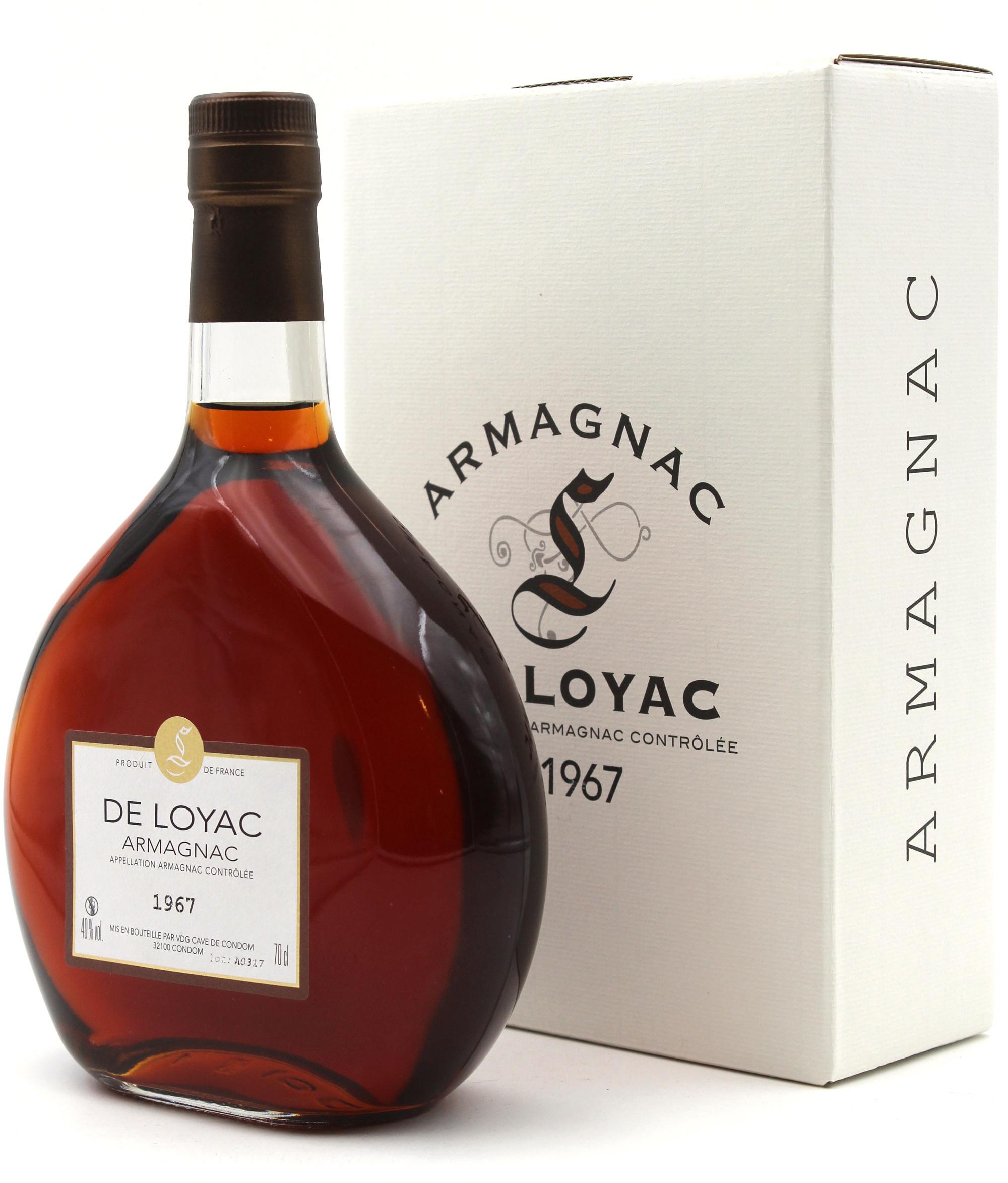 Armagnac De Loyac 1967 - 70cl