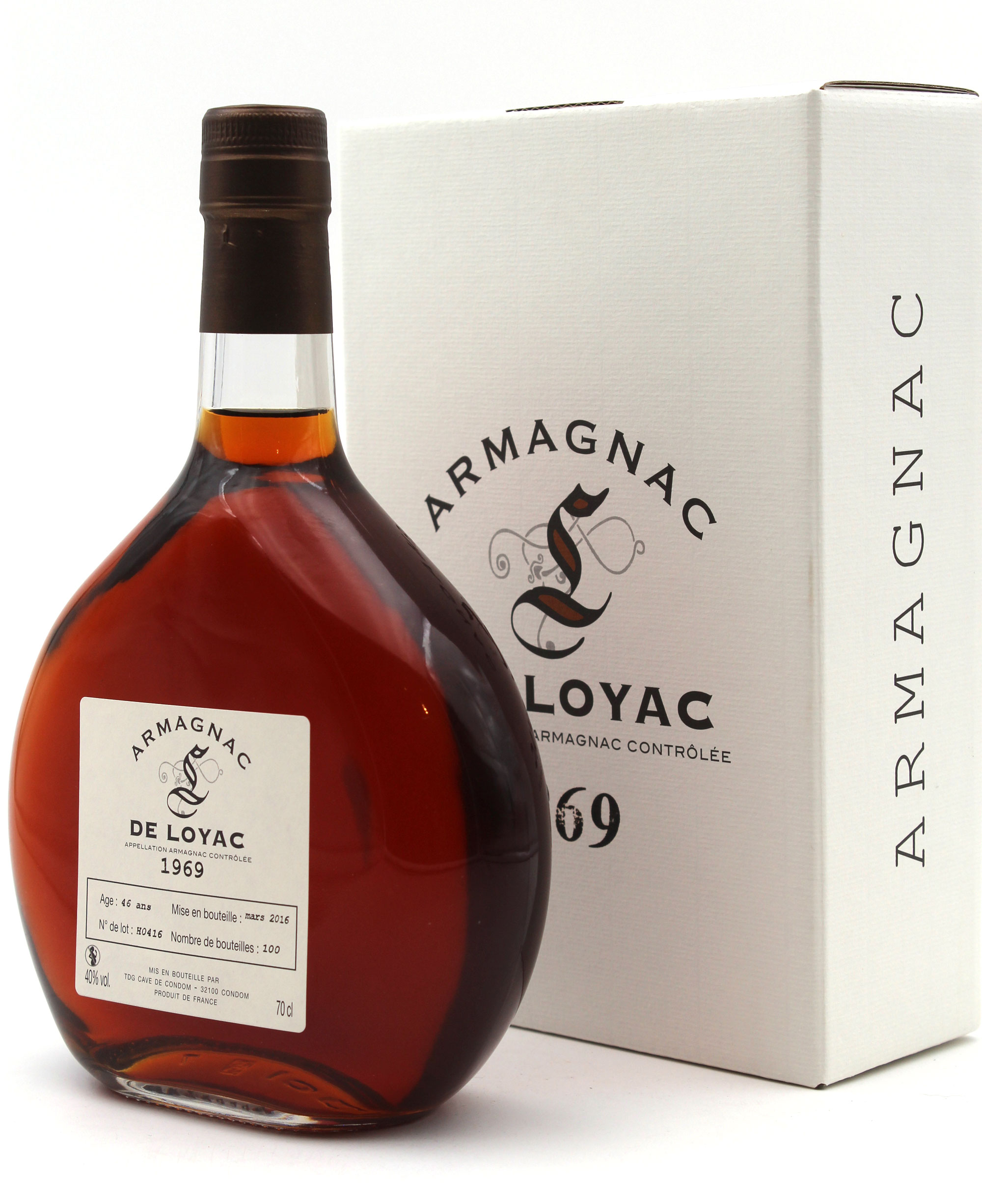 Armagnac De Loyac 1969 70 CL