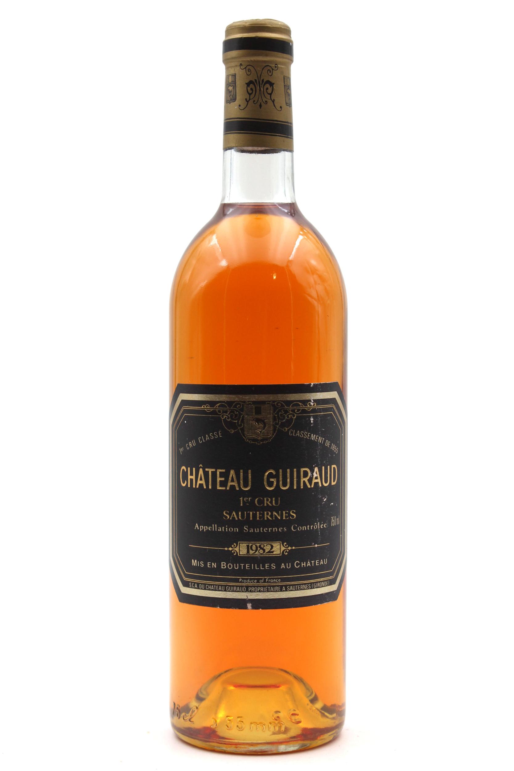 Château Guiraud 1982 Vin Blanc 75cl AOC Sauternes