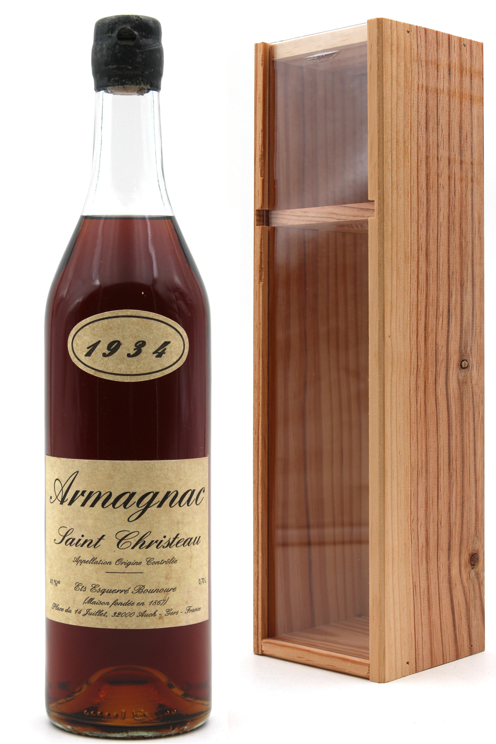 Armagnac Saint Christeau 1934 - 70cl