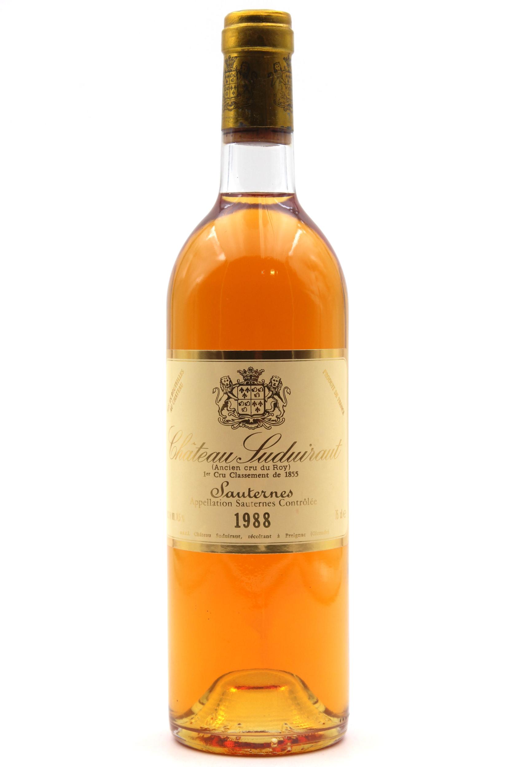 Château Suduiraut 1988 Blanc 75cl AOC Sauternes