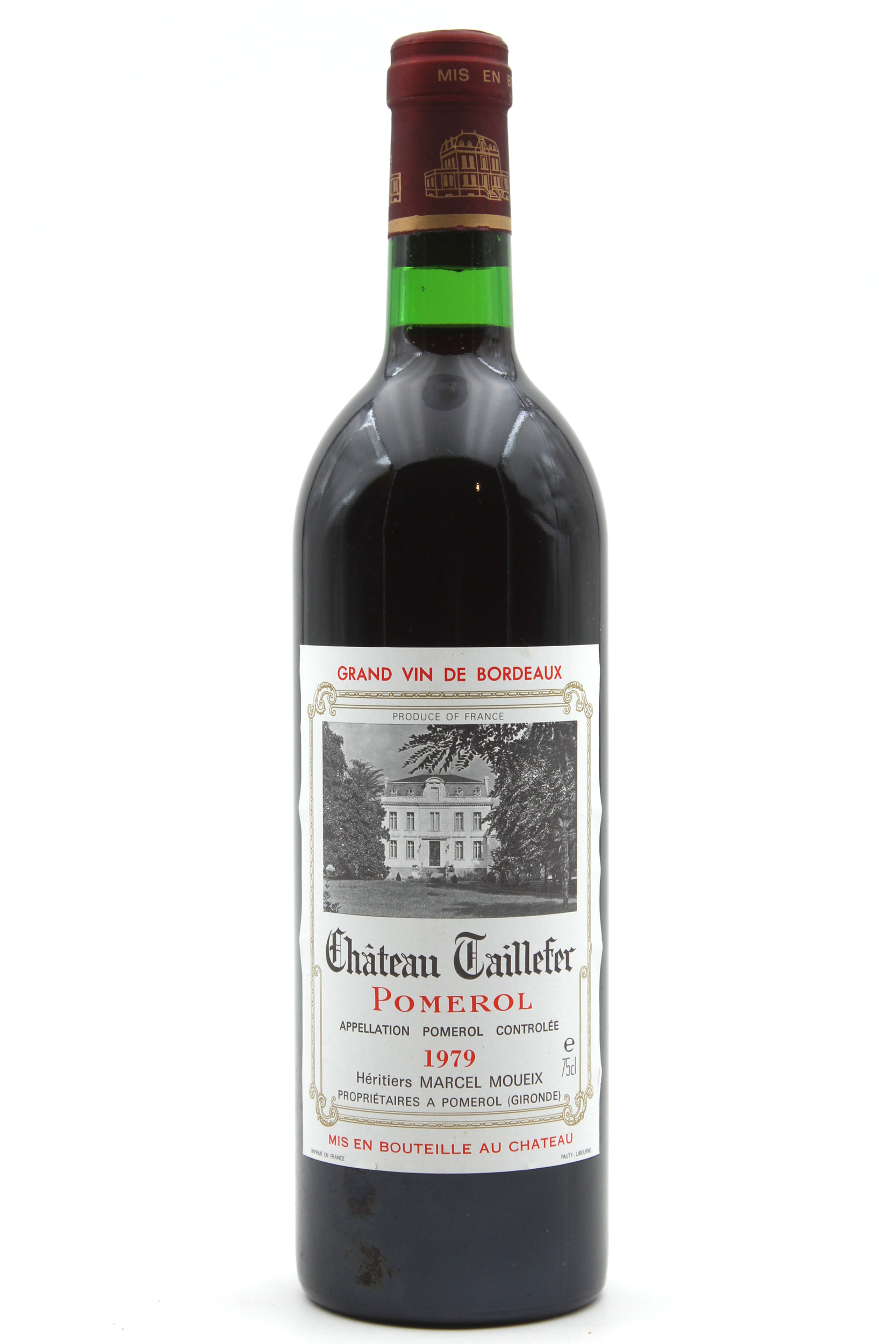 Château Taillefer 1979 Rouge 75cl AOC Pomerol