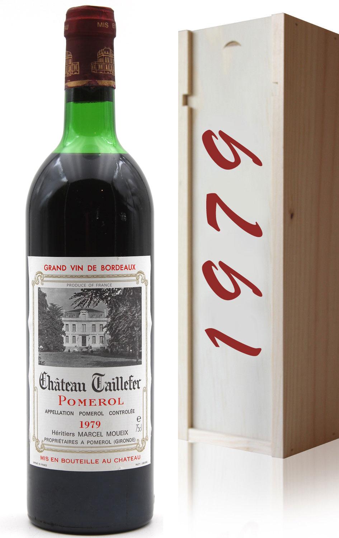 Coffret Château Taillefer 1979 Rouge 75cl AOC Pomerol