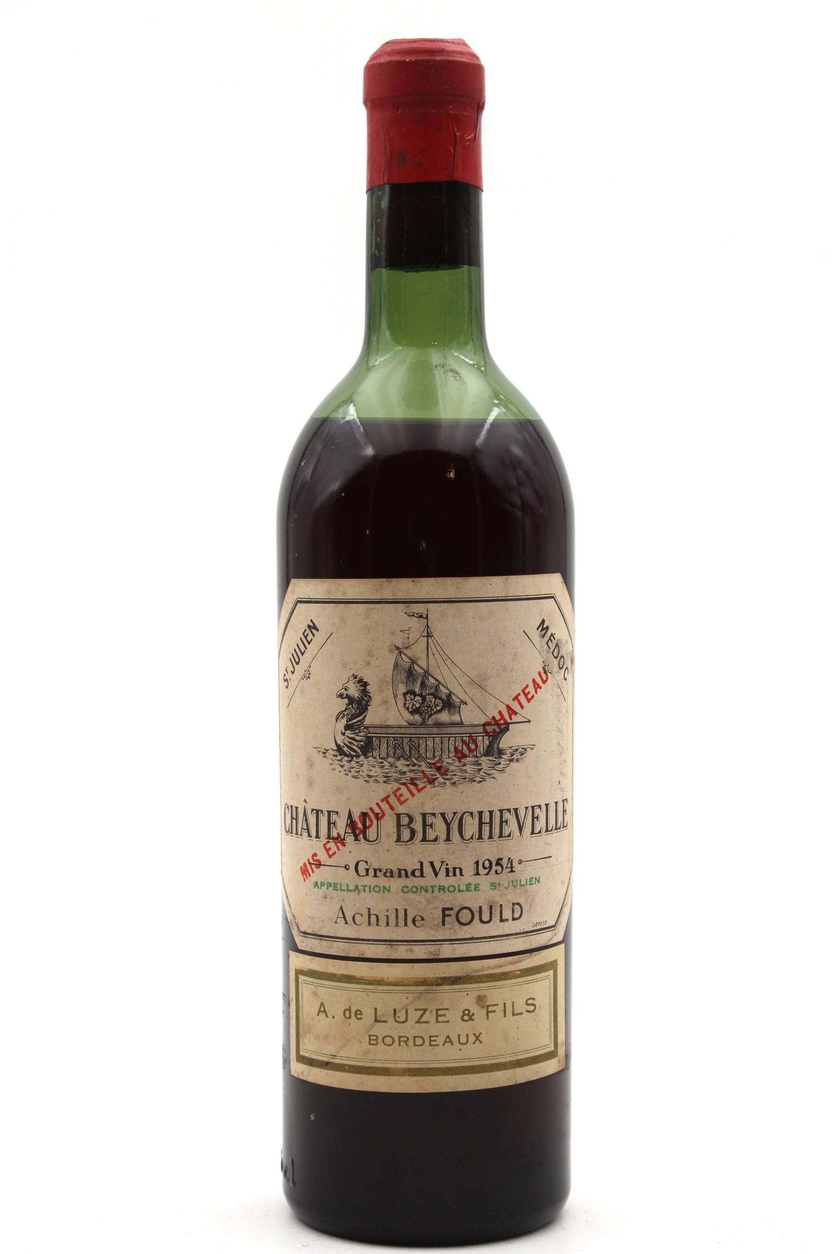 Château Beychevelle 1954  Rouge 75cl AOC Saint - Julien