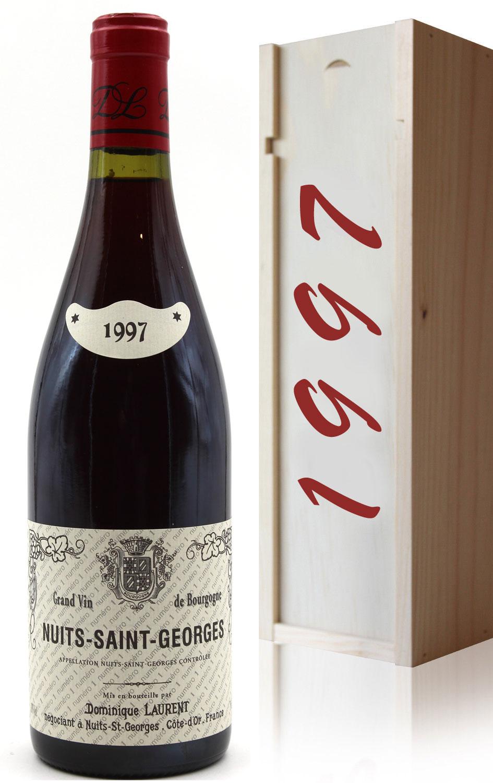Coffret Nuits-Saint-Georges 1997 - Rouge - 75cl - AOC - Bourgogne