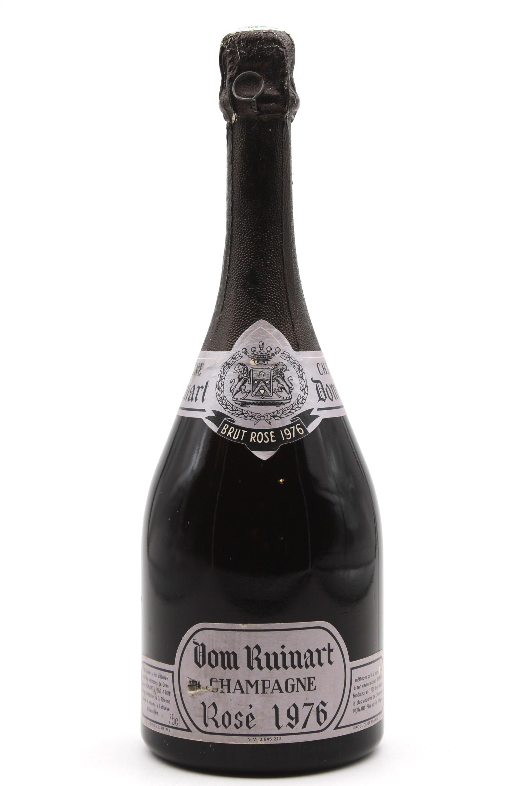 Champagne - Dom Ruinart - 1976 - Rosé - 75cl