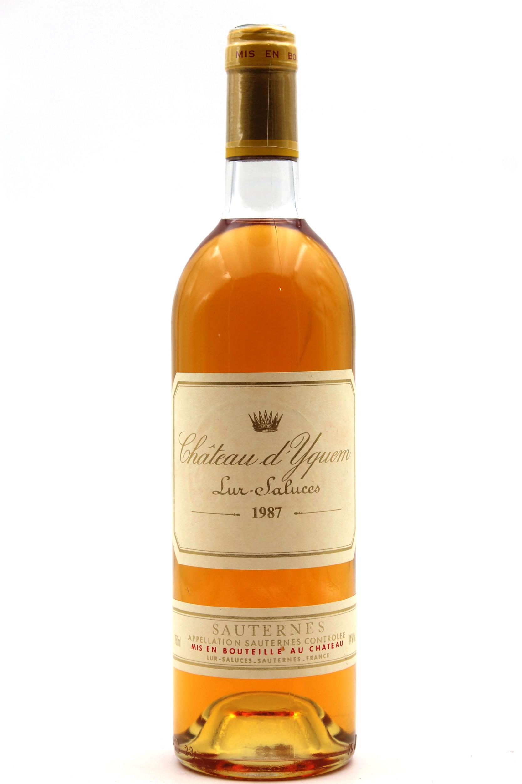 Château D\' Yquem 1987 Blanc 75cl AOC Sauternes
