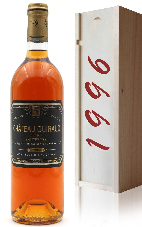 Coffret Château Guiraud 1996 Blanc 75cl AOC Sauternes