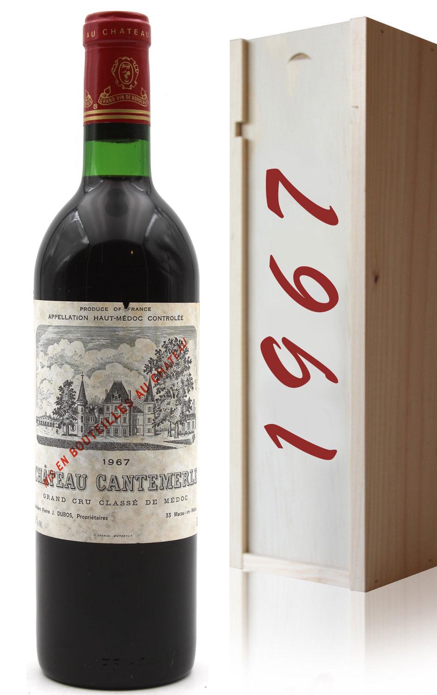 Coffret Château Cantemerle 1967  Rouge 75cl AOC Haut-Médoc