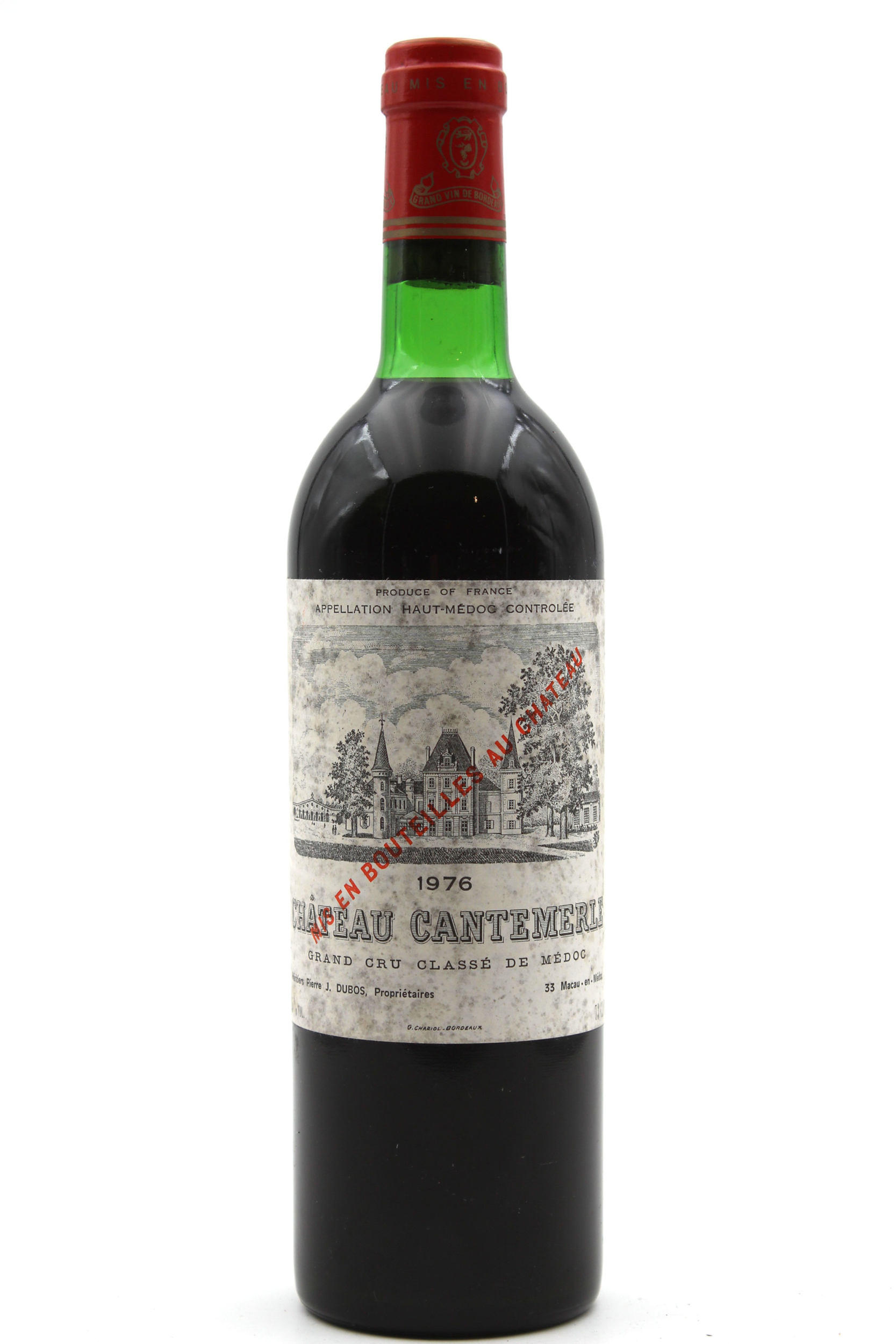 Château Cantemerle 1976  Rouge 75cl AOC Haut-Médoc