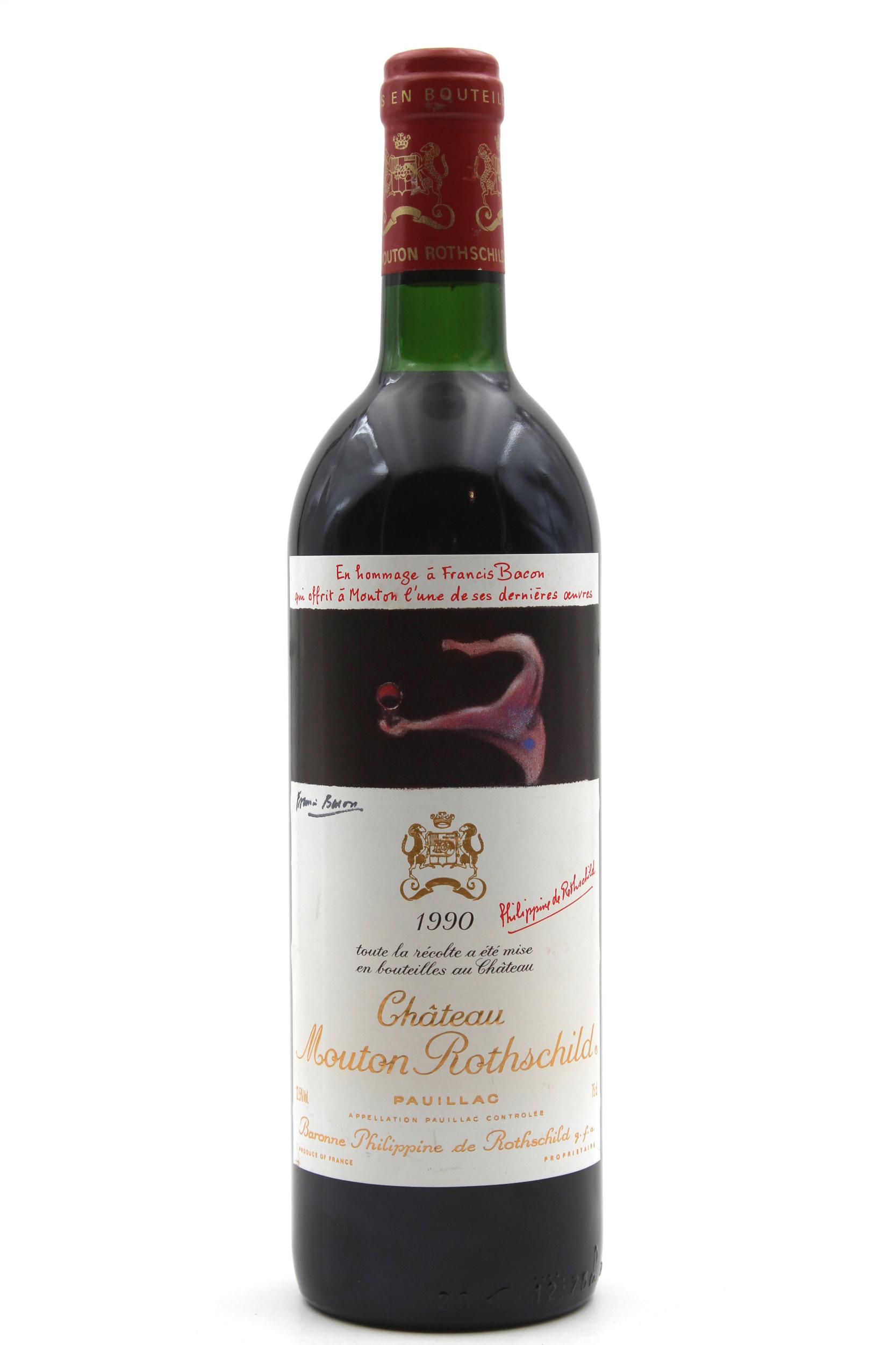 Château Mouton Rothschild 1990 Rouge 75cl AOC Pauillac
