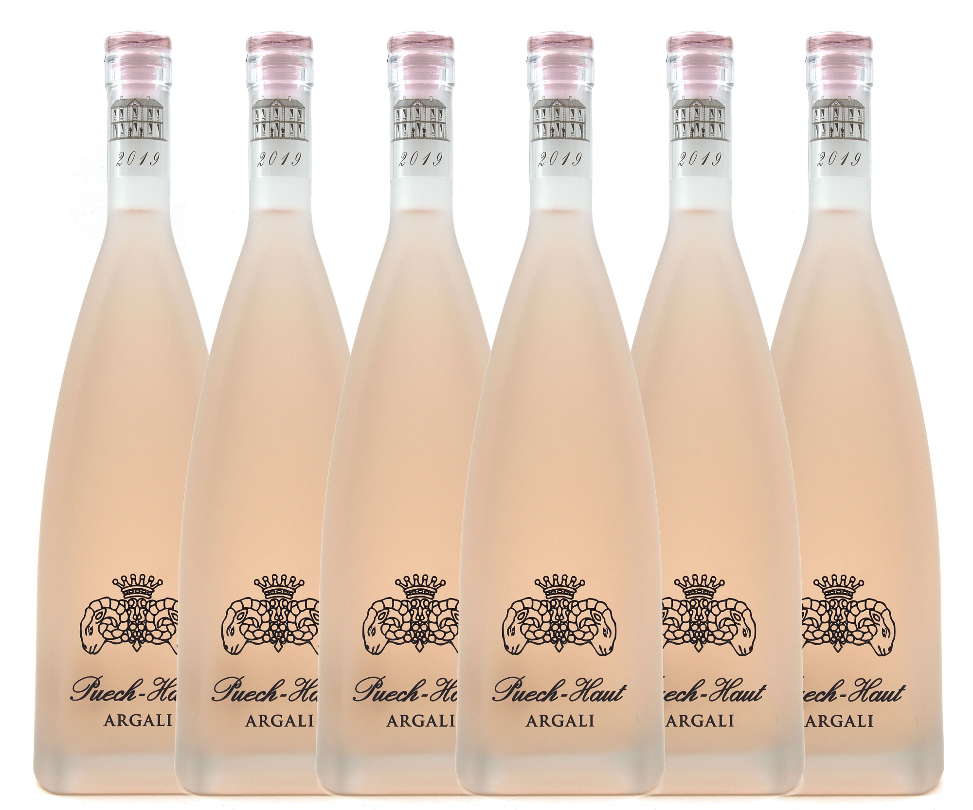 Château Puech-Haut - Prestige Argali 2019 - Vin Rosé - Pays d\'Oc - Carton de 6 Bouteilles