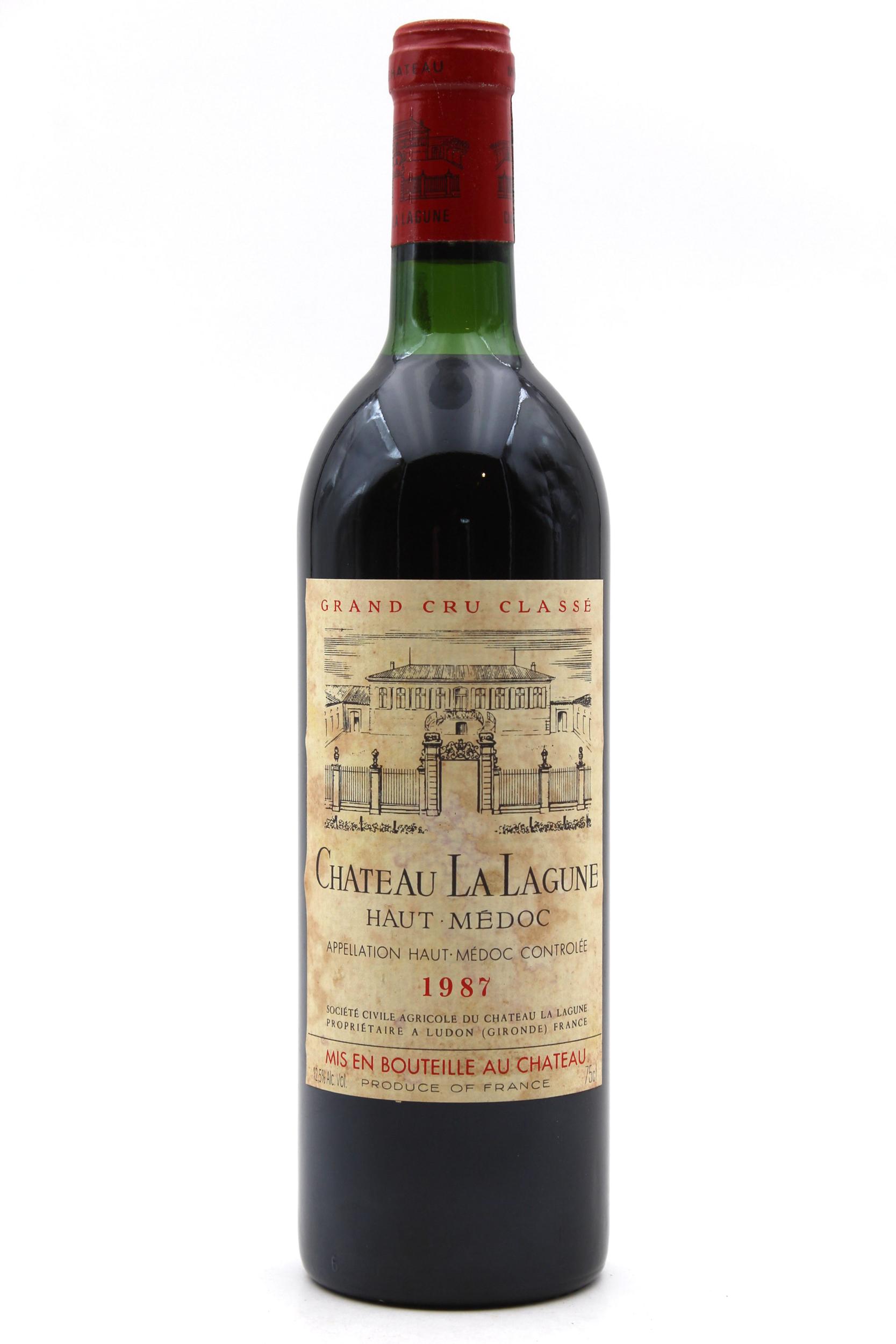Château La Lagune 1987 Vin Rouge 75cl AOC Haut-Médoc