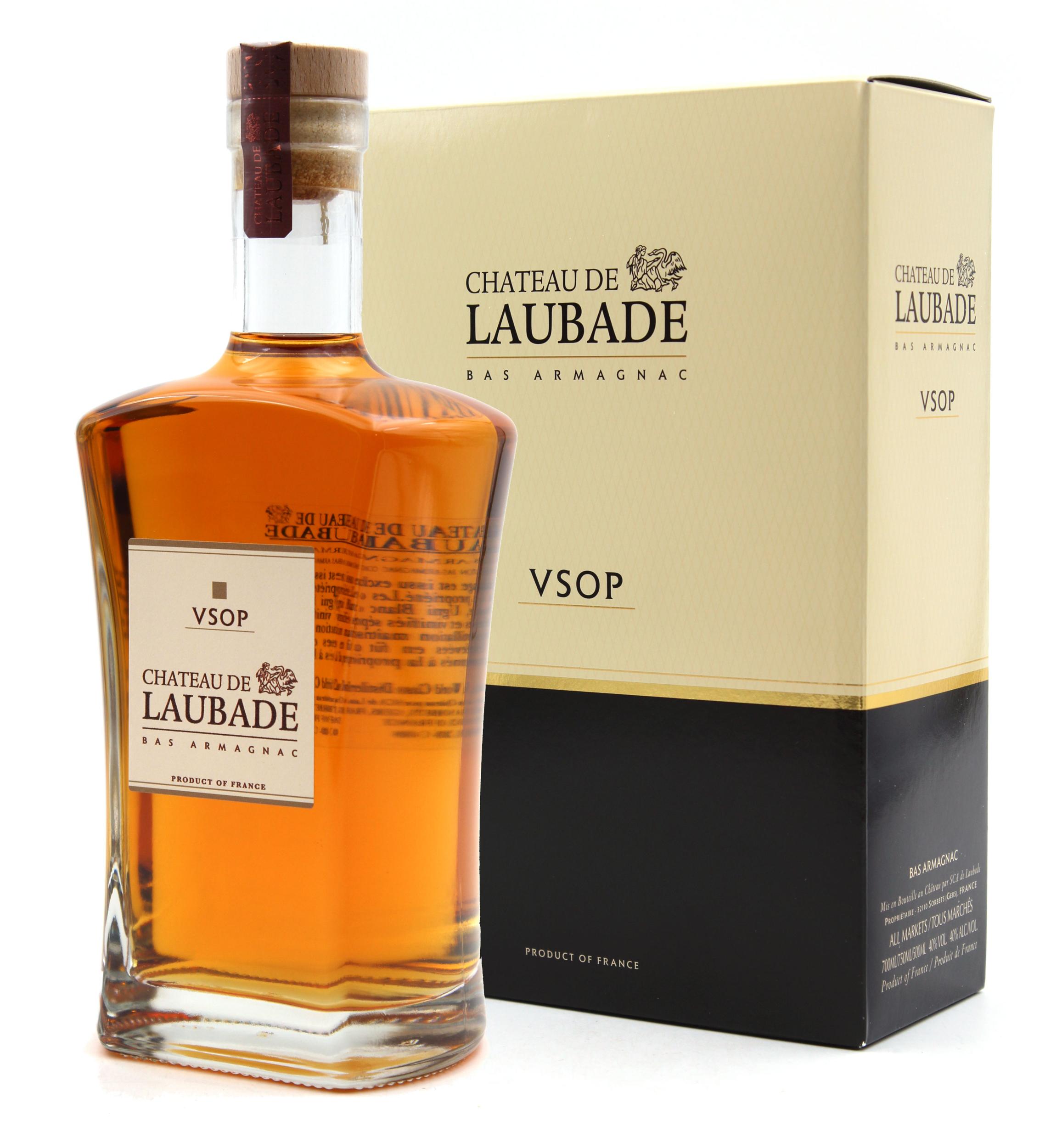 Armagnac Laubade Carafe Athos VSOP - 70cl