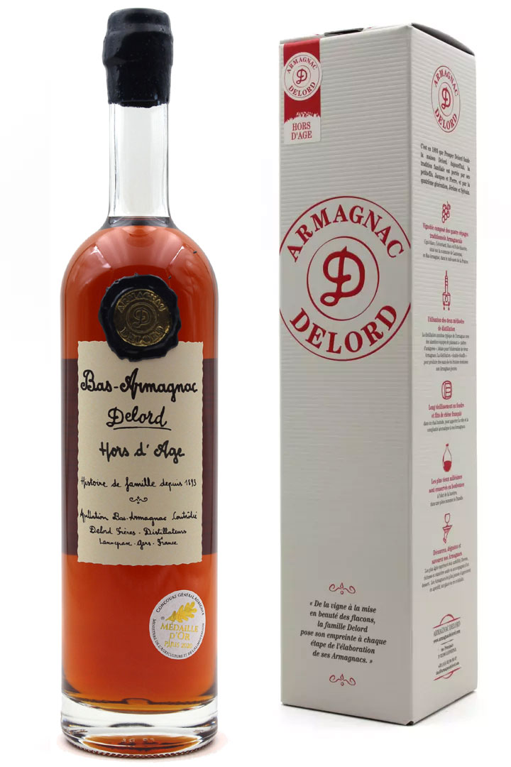 Armagnac Delord Hors d\'Age 70cl