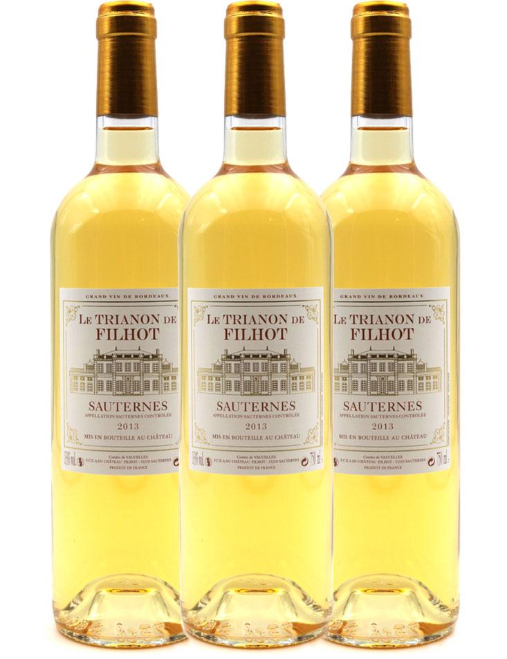 Le Trianon de Filhot 2013 - Vin Blanc - 75cl - AOC Sauternes