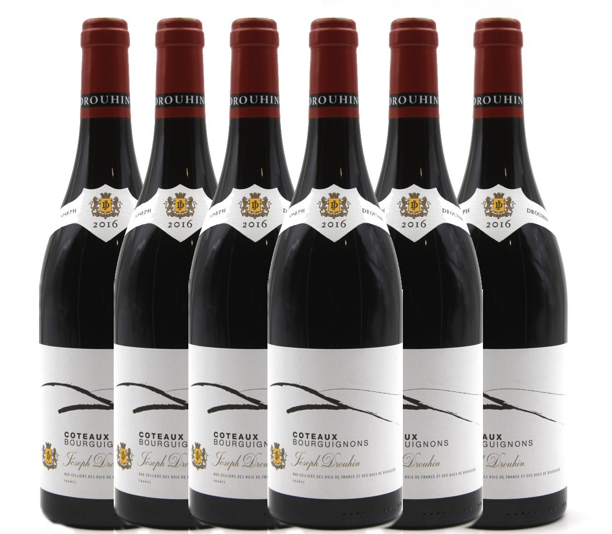 Lot de 6 bouteilles Coteaux Bourguignons 2016 Joseph Drouhin - Rouge - AOC - 75cl