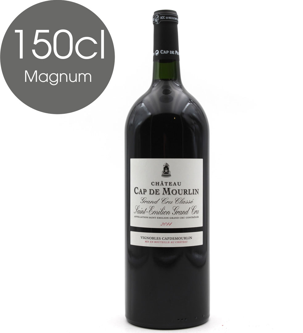 Château Cap de Mourlin 2014 Rouge Magnum 150cl AOC St Émilion