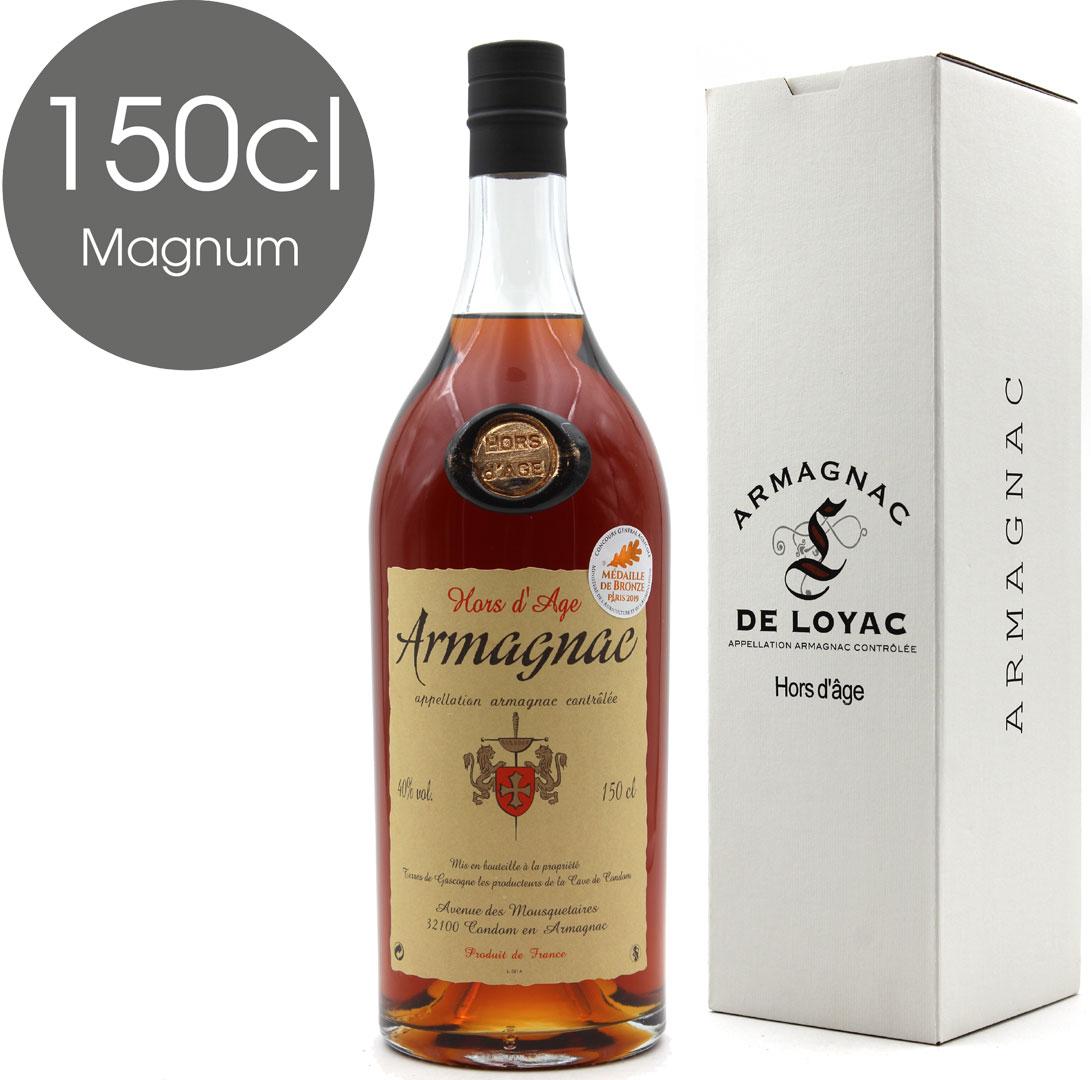 Armagnac De Loyac Hors d\'Age - Magnum - 150cl