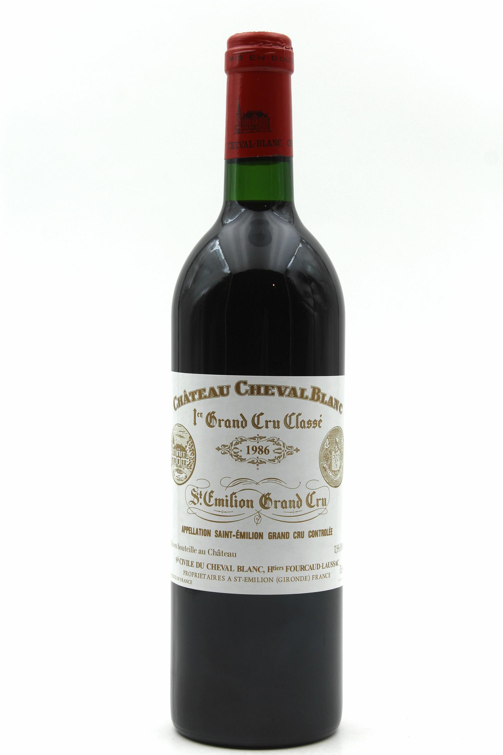 Château Cheval Blanc 1986 Rouge 75cl AOC Saint-Émilion