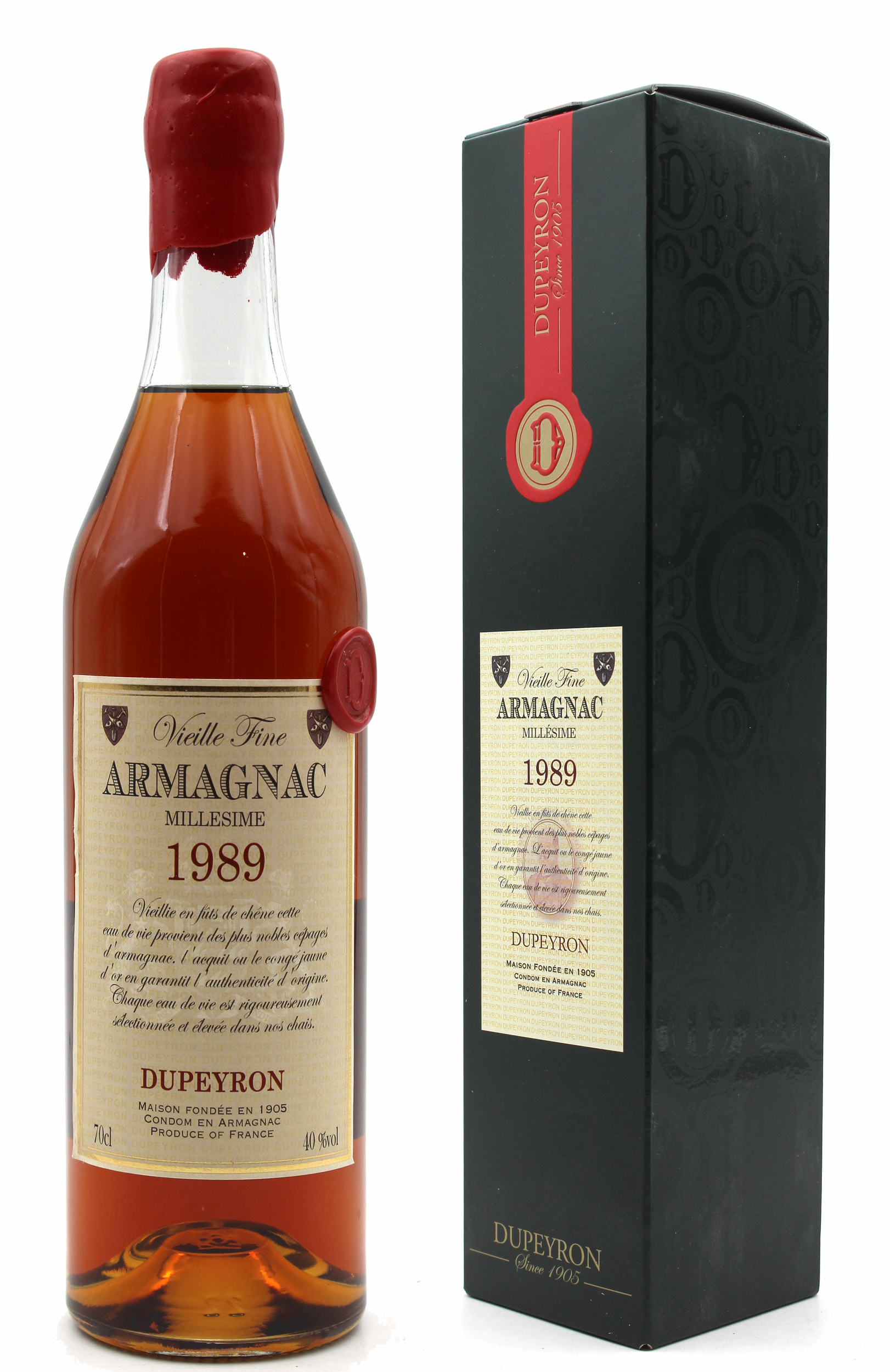 Armagnac Ryst Dupeyron 1989 - 70cl