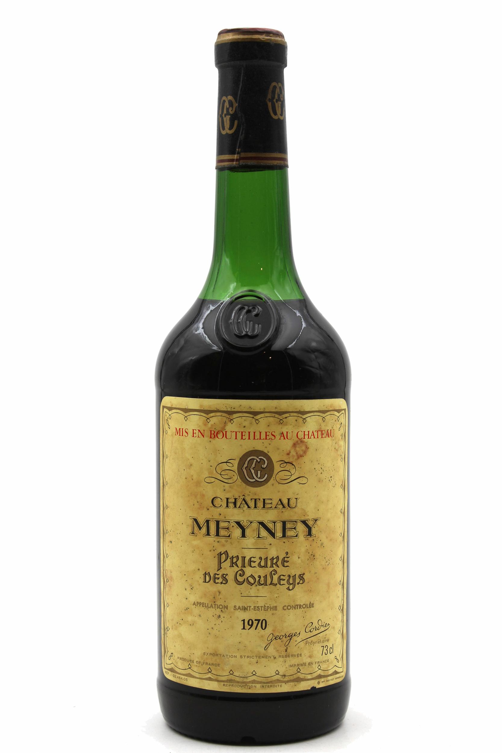 Château Meyney 1970 Rouge 75cl AOC Saint-Estephe
