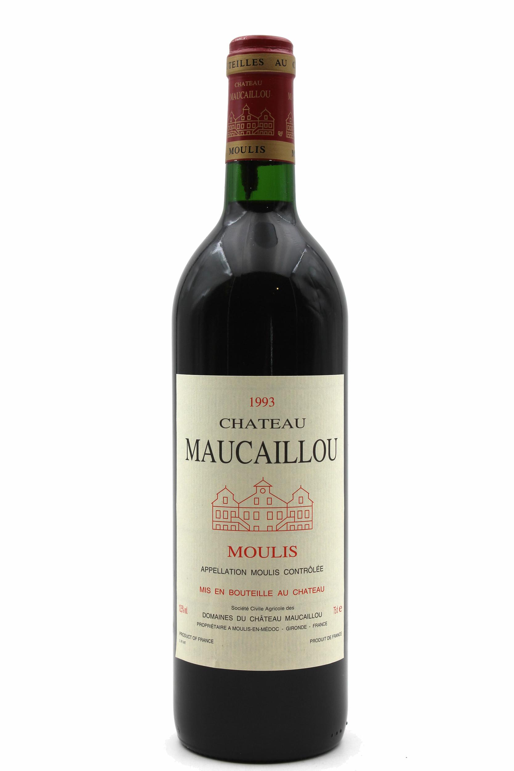 Château Maucaillou 1993 Rouge 75cl AOC Moulis