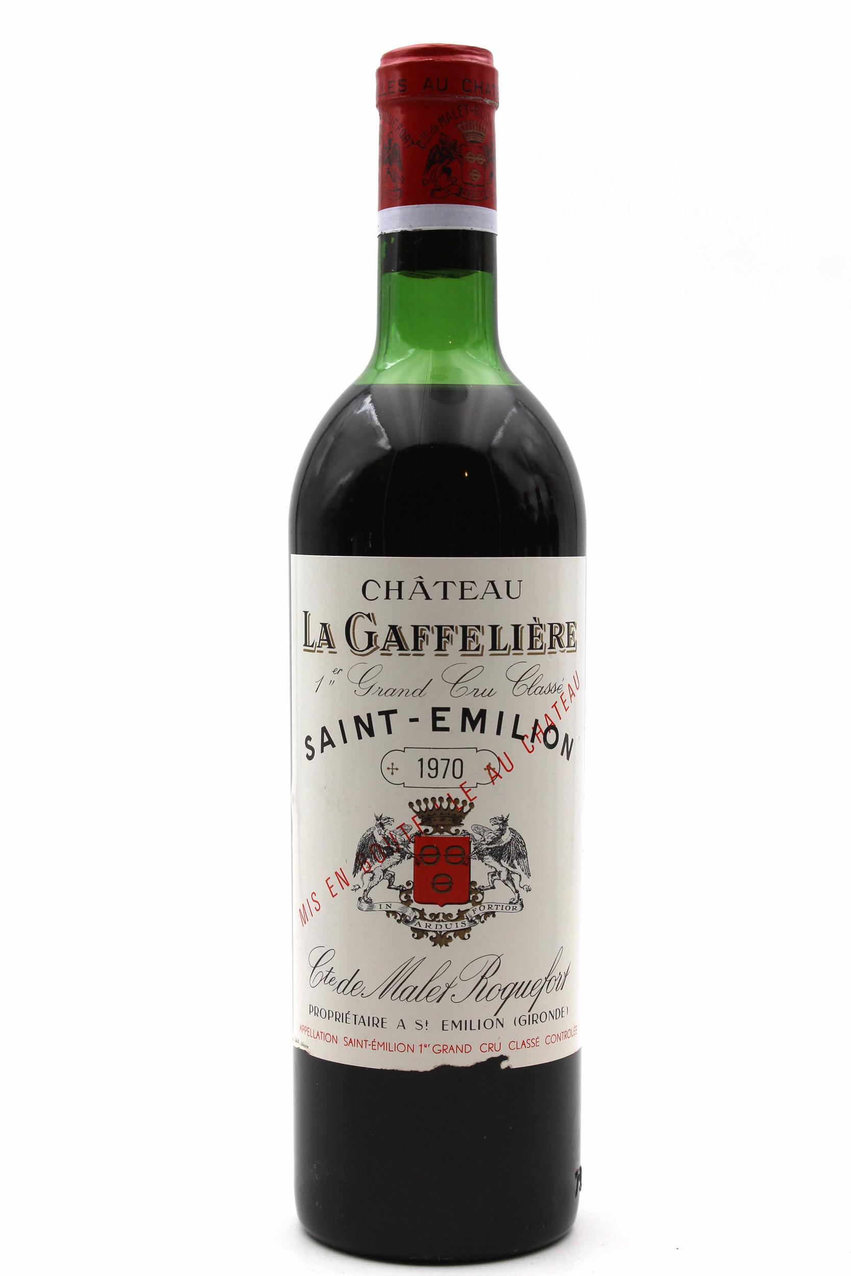 Château La Gaffelière 1970 Rouge 75cl AOC Saint-Émilion