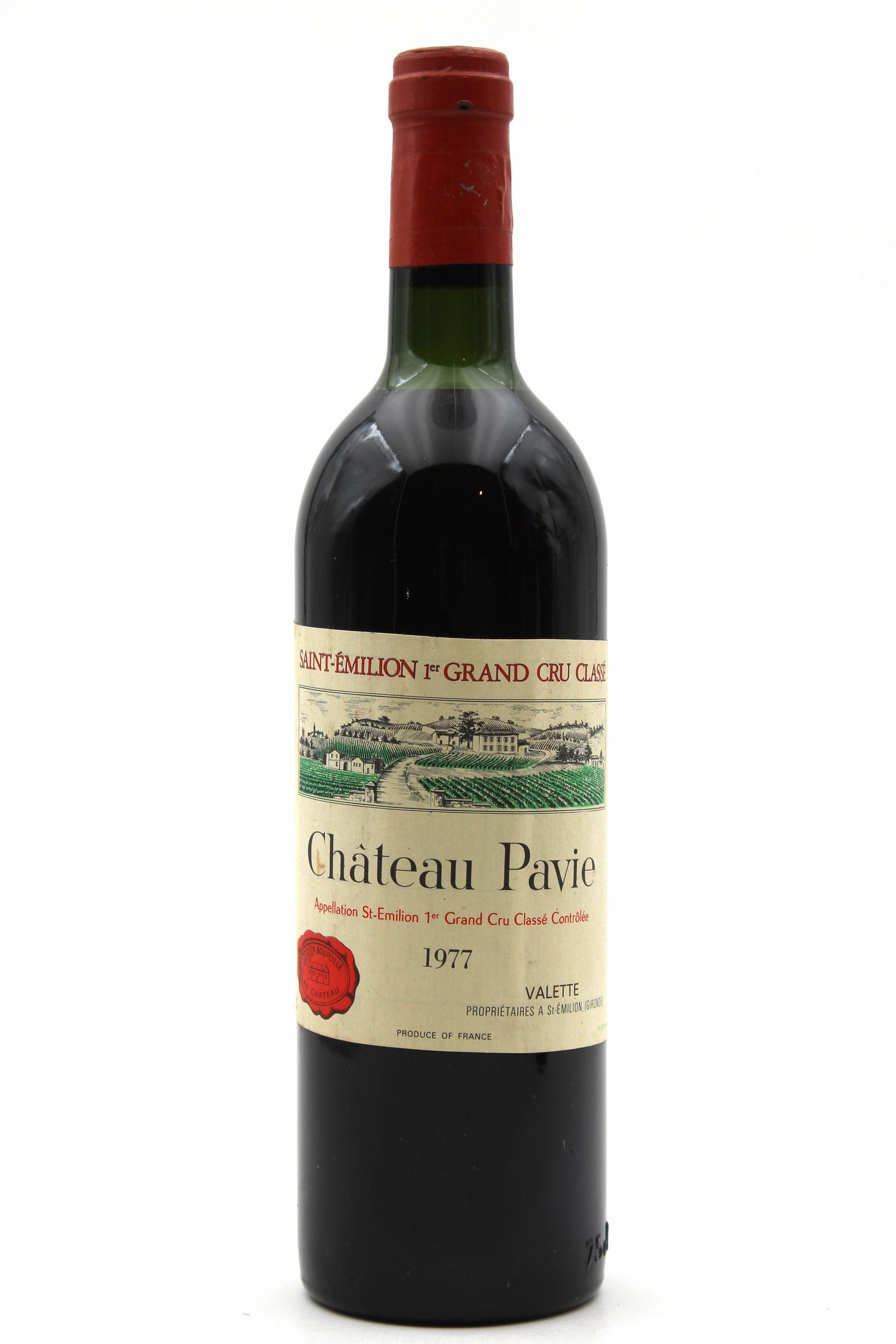 Château Pavie 1977 Rouge 75cl AOC Saint Émilion