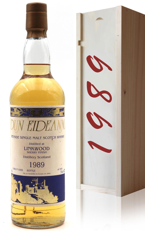 Whisky Linkwood 1989 Den Eideann Sherry Finish - 70cl