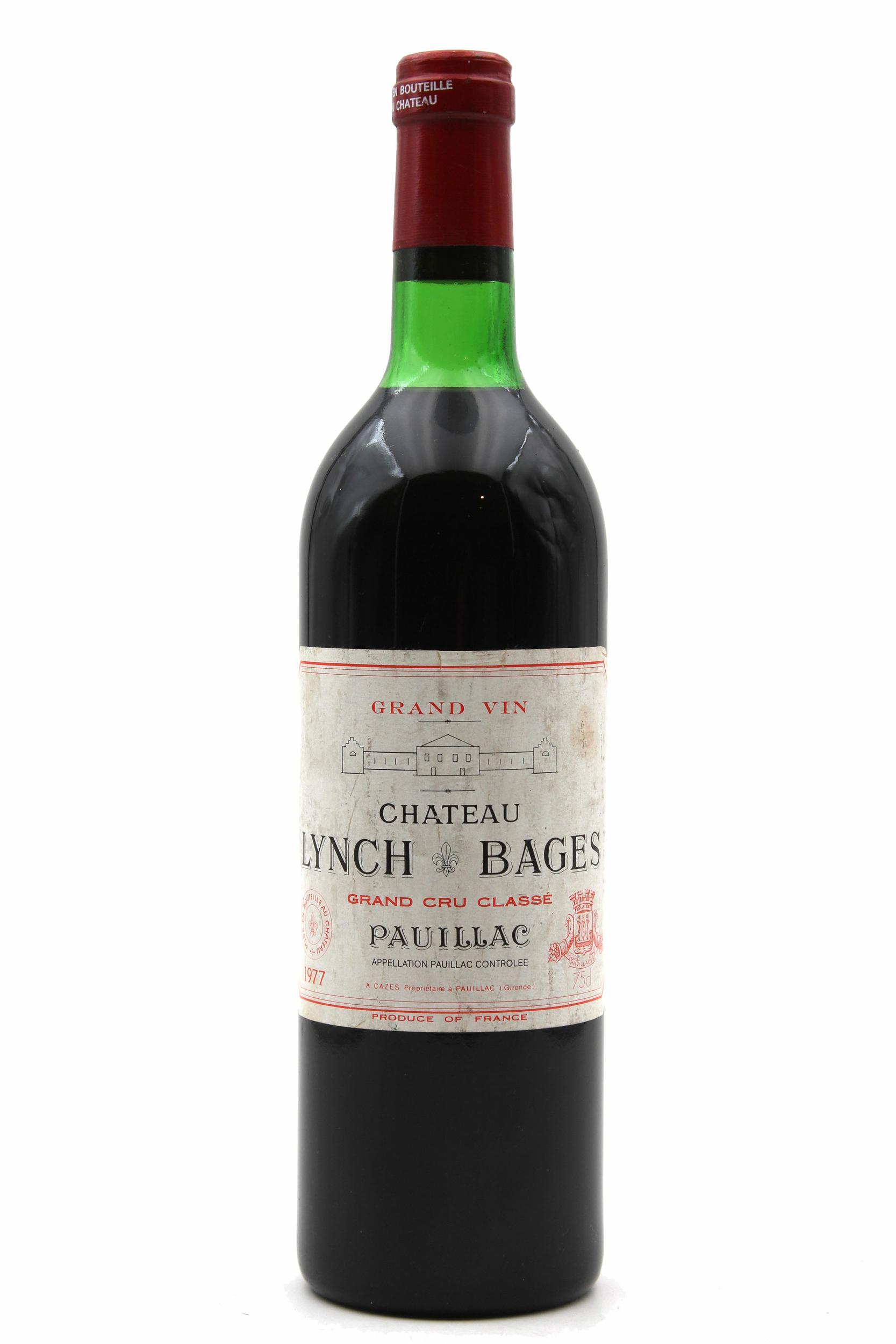 Château Lynch Bages 1977  Rouge 75cl AOC Pauillac