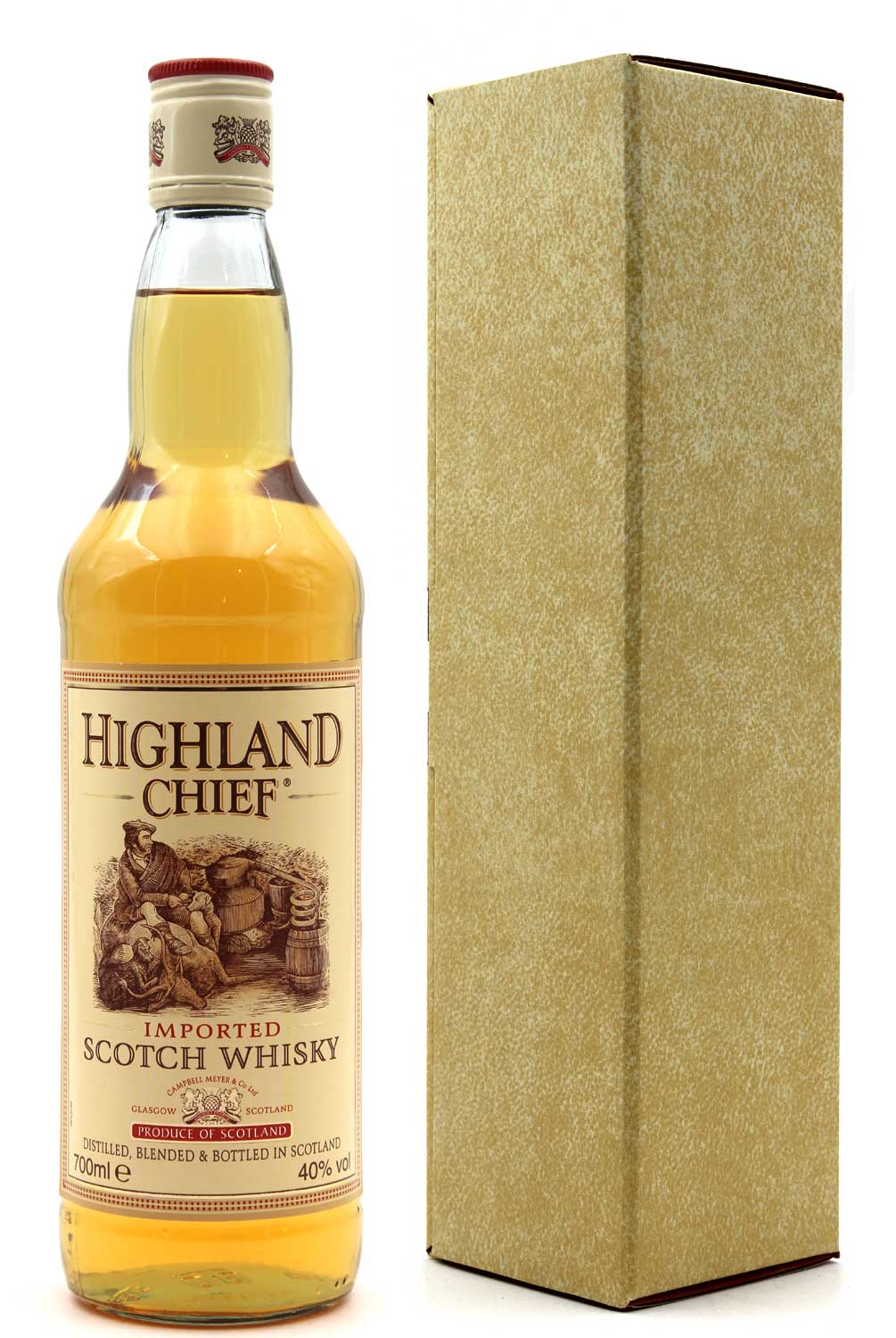 Whisky Highland Chief - Blended - 70cl