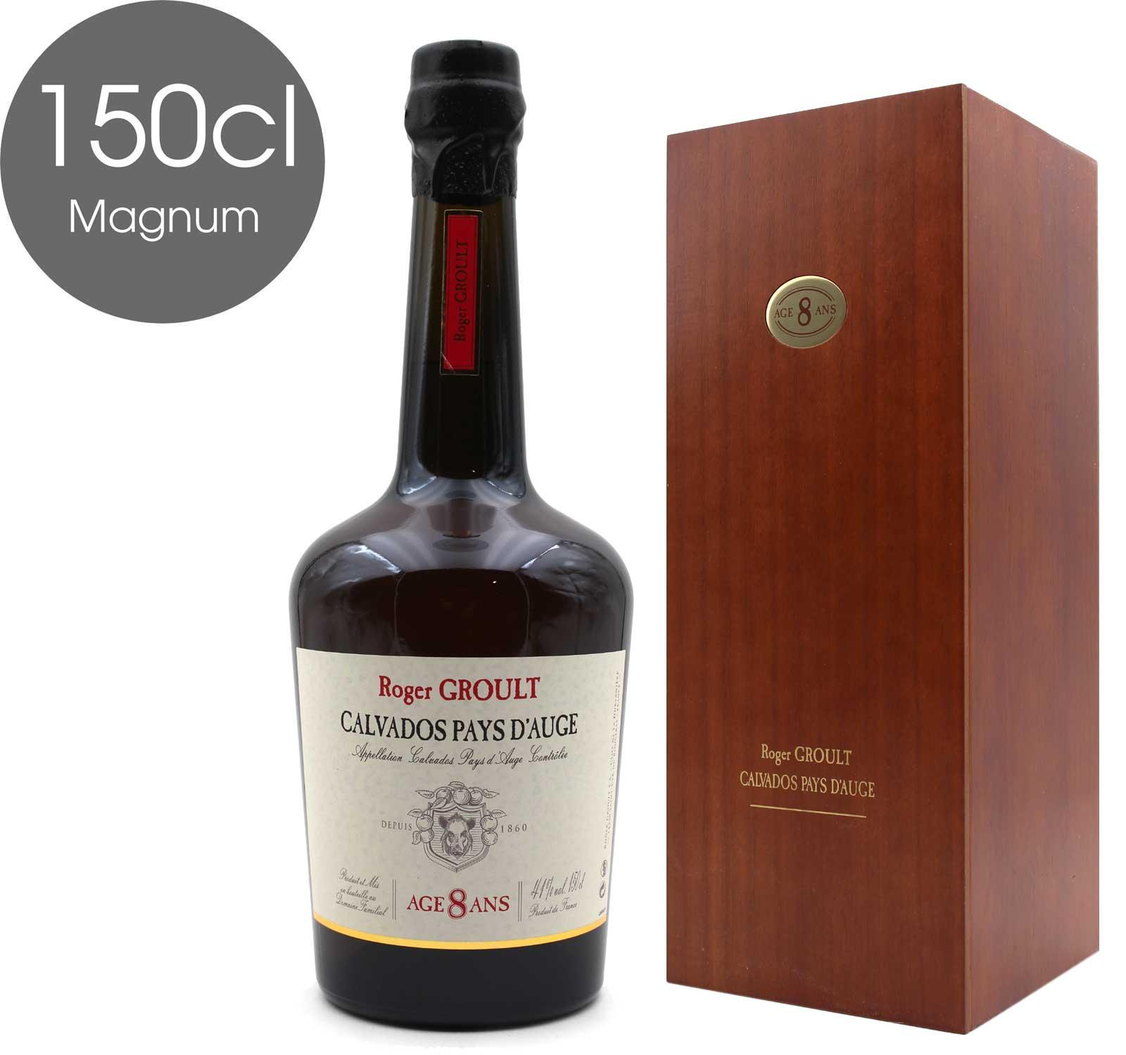 Calvados Roger Groult 8 ans - Magnum - 150CL