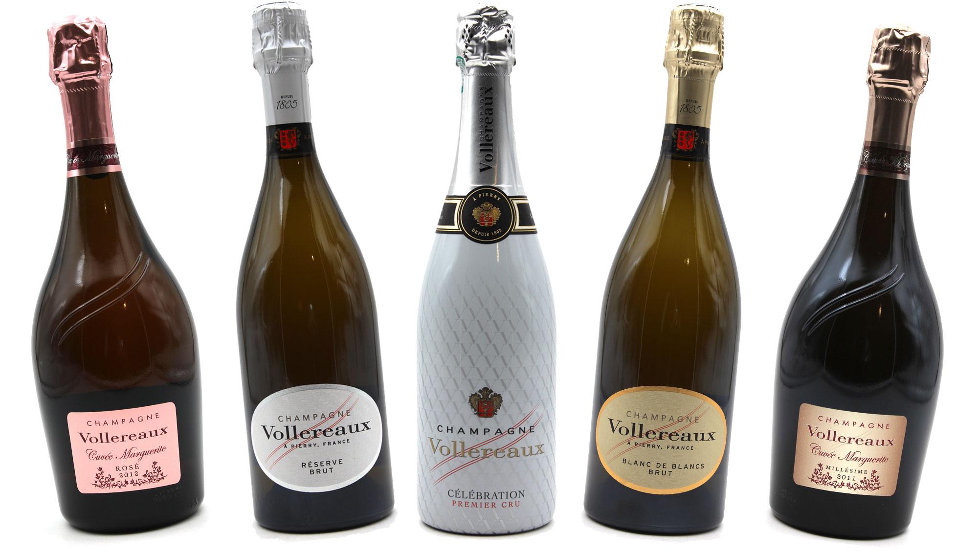Coffret découverte Champagne Vollereaux