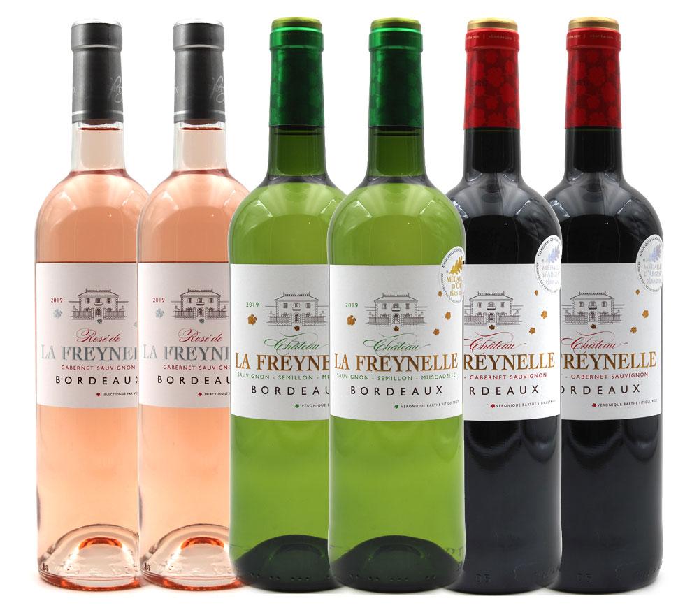 Assortiment Château La Freynelle 2019 - Bordeaux