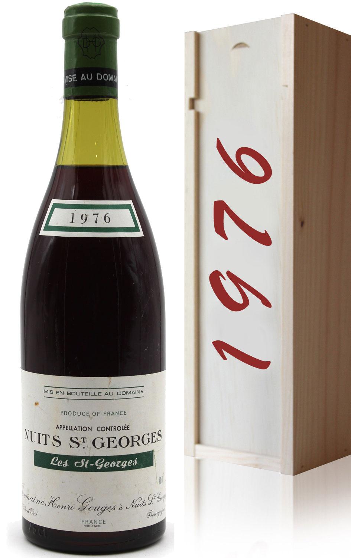Coffret Nuits-Saint-Georges 1976 - Les St-Georges - 75cl - AOC - Bourgogne