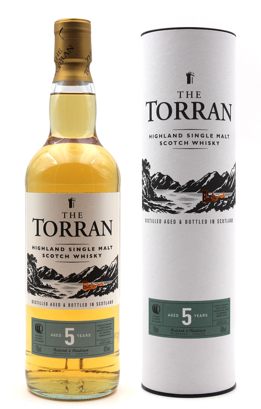 Whisky The Torran 5 ans - Single Malt - 70cl