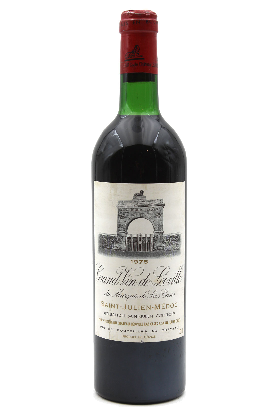 Château Léoville Las Cases 1975 - 75cl AOC Saint-Julien