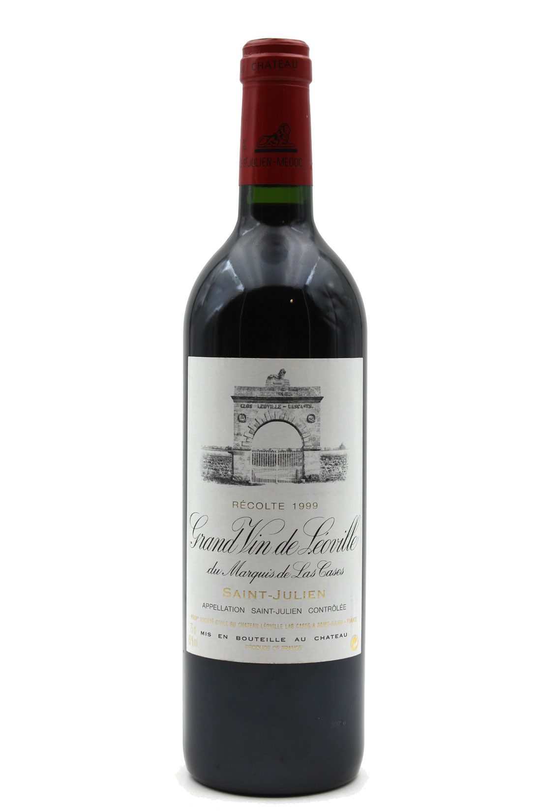 Château Léoville Las Cases 1999 - 75cl AOC Saint-Julien
