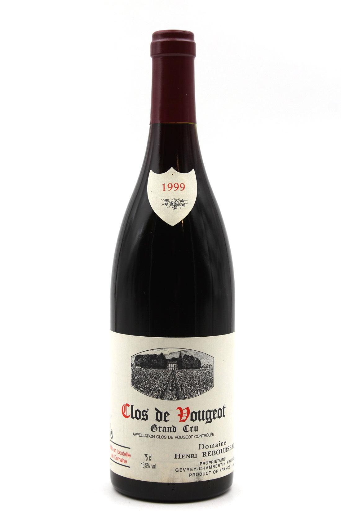 Clos de Vougeot 1999 - Henri Rebourseau - 75cl AOC Bourgogne