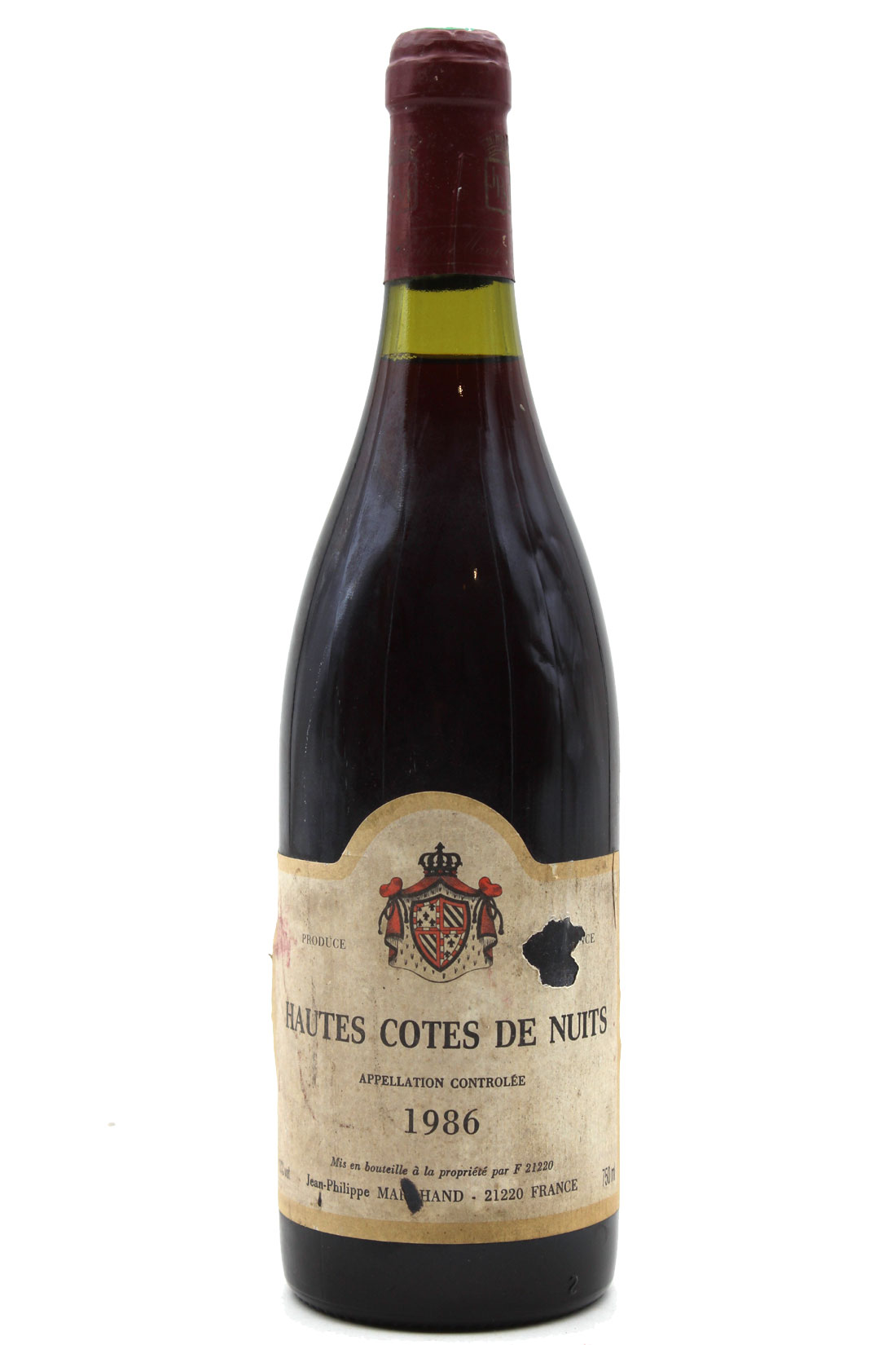 Hautes-Côtes de Nuits 1986 - 75cl - AOC Bourgogne