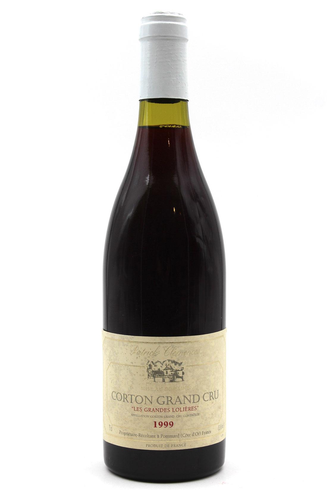 Corton Grand Cru 1999 Les Grandes Lolières - 75cl - Bourgogne