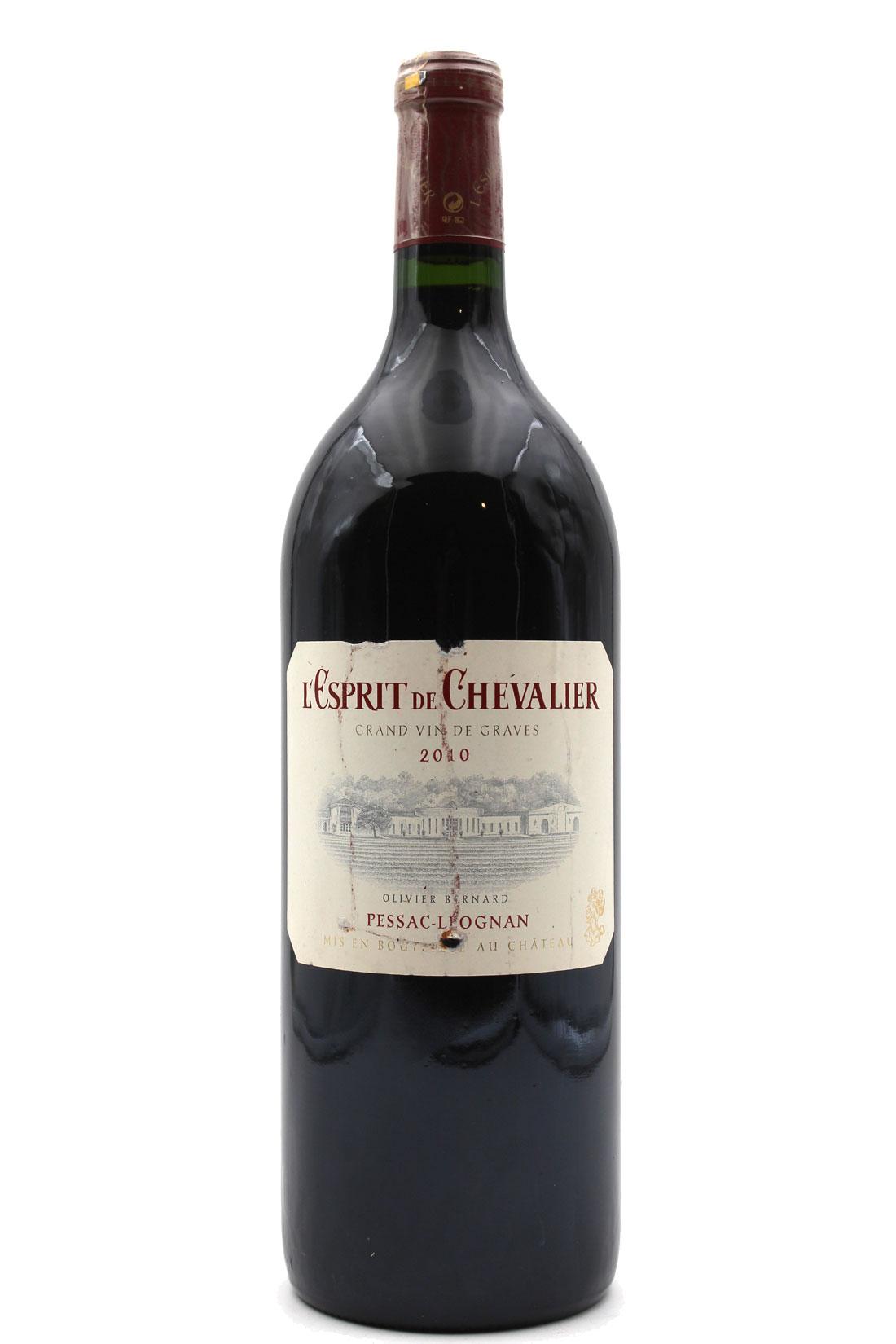 L\' Esprit de Chevalier 2010 - Magnum - 150cl AOC Pessac-Leognan