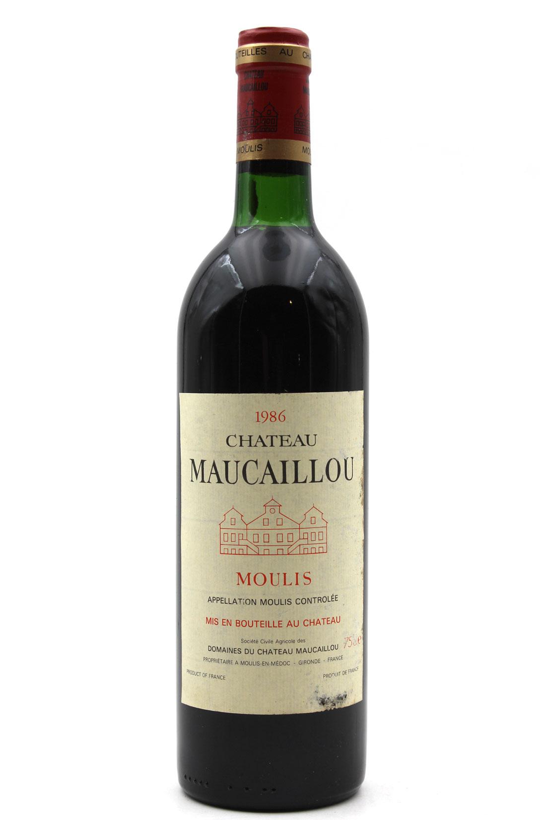 Château Maucaillou 1986 - 75cl AOC Moulis