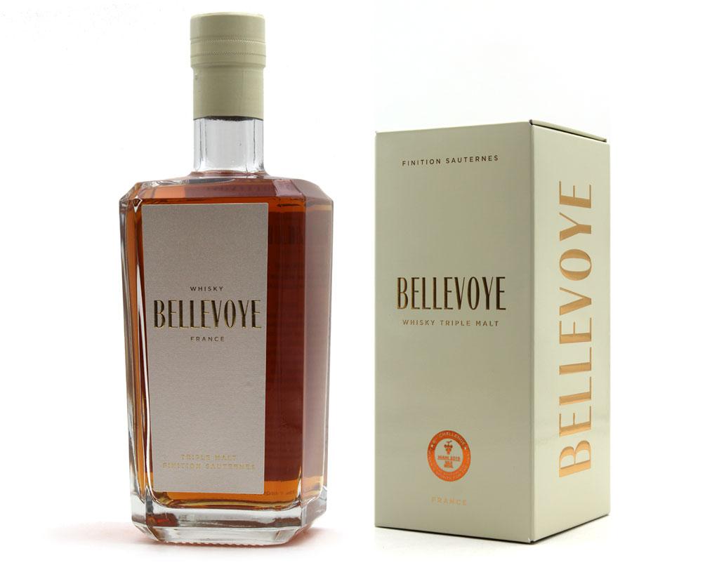 Bellevoye Blanc Whisky 40% - 70cl