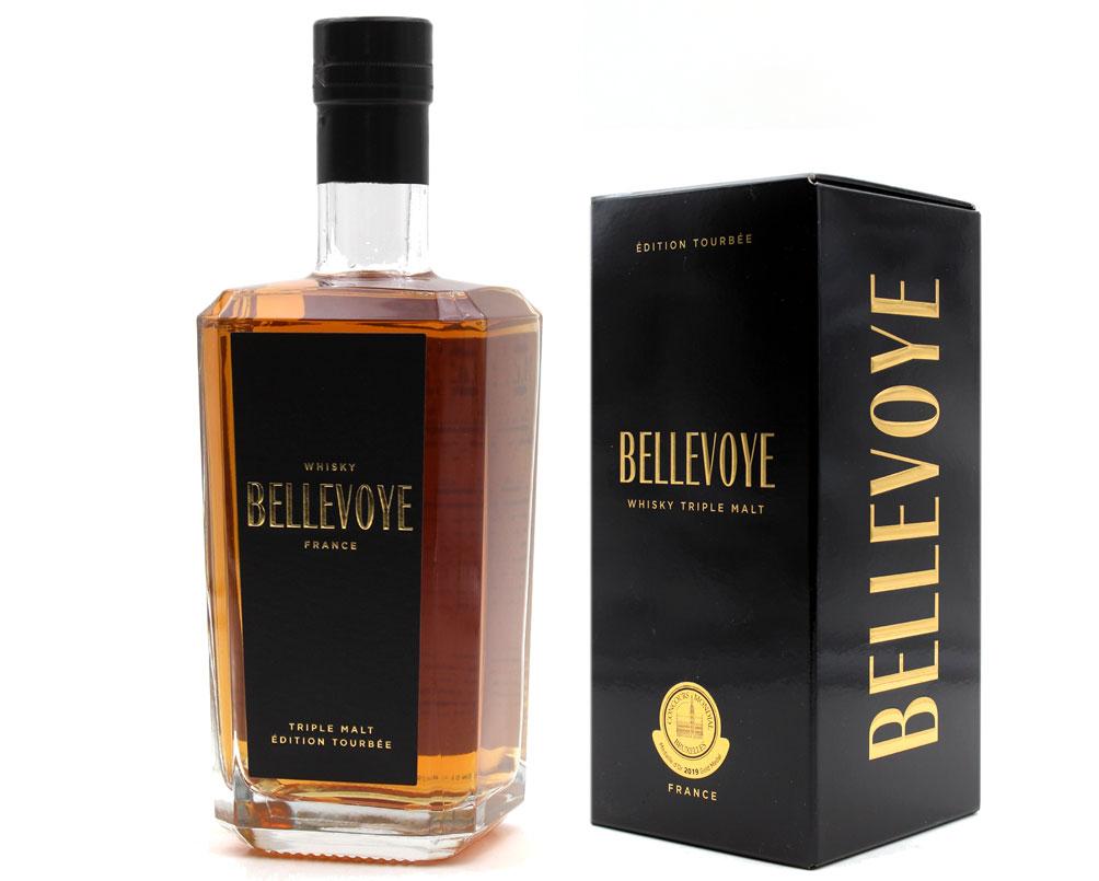Bellevoye Noir Whisky 43% - 70cl